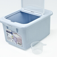 【教师节礼物】茶花 米桶 家用20斤厨房加厚防尘防潮密封储米箱大米收纳箱面粉桶