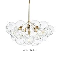 泡泡灯吊灯泡泡灯北欧风格ins玻璃创意客厅卧室餐厅吊灯儿童房服装店气泡灯