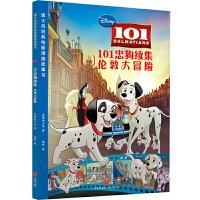 迪士尼经典电影漫画故事书 101忠狗续集:伦敦大冒险