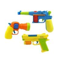 1-2-3岁小孩迷你投影电动枪声光男孩耐摔儿童玩具宝宝玩具枪 如图