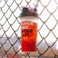 摇摇杯健身杯水杯运动便携水壶带刻度男杯子大容量