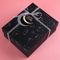 精美礼品盒大号长方形装围巾的包装盒生日伴手礼盒礼物ins盒子空1