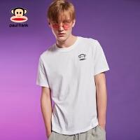 Paul Frank/大嘴猴2018夏季新品设计师款男时尚个性短袖T恤
