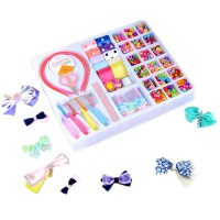 公主小礼物 儿童diy手工串珠玩具女孩制作手链项链穿珠子材料包