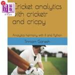 【中商海外直订】Cricket analytics with cricketr and cricpy: Analyti