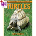 【中商海外直订】Turtles! An Educational Children's Book about Turtl