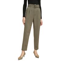 网易严选 女式高腰宽松锥形长裤