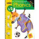 Phonics (Grade 1-2, Little Golden Book) 提前一步学语音(金色童书,学龄前练习册)9780307036506