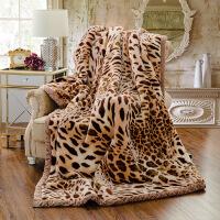毛毯冬季双层加厚珊瑚绒毯子单双人保暖盖毯被子婚庆大红