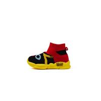 【 限抢购】女童运动鞋2019夏季新款飞织鞋防滑软底宝宝鞋时尚百搭男孩袜子鞋