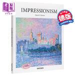【中商原版】印象派 英文原版 Impressionism 艺术