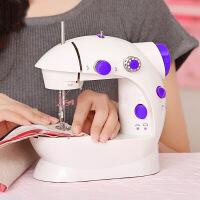 家用电动缝纫机便携台式电动小型迷你多功能带灯202缝纫机 图片色