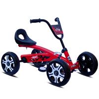 儿童四轮车脚踏车卡丁车 儿童卡丁车三四轮脚踏折叠自行车运动玩具汽车男女宝宝健身车
