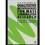 【预订】A Handbook of Qualitative Methodology for Mass Communic