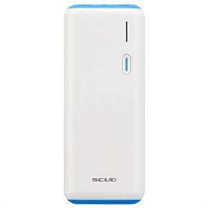 SCUD飞毛腿 10000毫安 独立2A输出双USB输出金属 A12 移动电源/充电宝 蓝色
