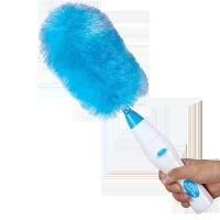 电动除尘禅清扫升级清洁刷神器灰尘利器男人帮伸缩多功能 蓝色标准一套