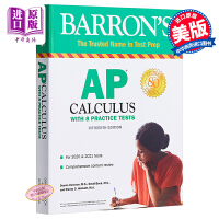【中商原版】巴朗AP微积分(第15版)英文原版 Barron's AP Calculus 15th Edition (