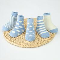 宝宝袜子春秋冬保暖婴幼儿小孩短袜1-3-5岁男女中筒儿童袜