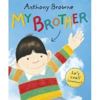 【现货】My Brother 英文原版儿童书 我哥哥 安东尼布朗绘本 平装