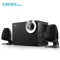 Edifier/漫步者 R201BT无线蓝牙多媒体音箱台式机电脑笔记本重低音炮家用2.1木质有源音响 T08 T06