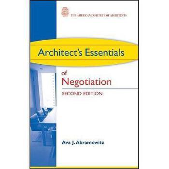 【预订】Architect's Essentials of Negotiation 美国库房发货,通常付款后3-5周到货!