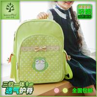 韩国kk树小学生书包男童减负1-3年级儿童书包4-6年级女童学生背包