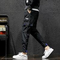 工装裤男士长裤潮流百搭夏季装新款九分运动哈伦薄款休闲裤子