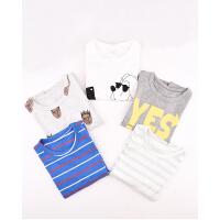 【3件3折价:23元】棉果果儿童短袖T恤男女童打底衫宝宝衣服中小童上衣夏