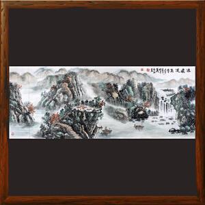 1.8米《源远流长》李成永 中国艺术家联合会副会长 国家一级美术师ML4578DOO
