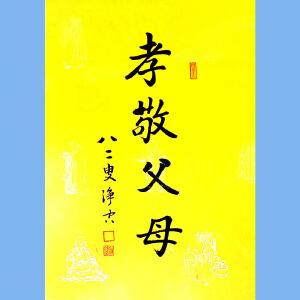 澳洲净宗学院院长,香港佛陀教育协会董事主席净空(孝敬父母)