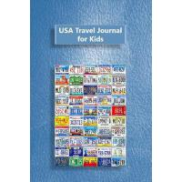 【预订】USA Travel Journal for Kids