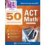 【中商海外直订】McGraw-Hill Education: Top 50 ACT Math Skills for a