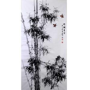 中国美协会员,中国书协会员 侯桂峰(竹报平安)15