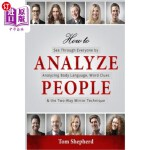 【中商海外直订】How to Analyze People: See Through Everyone by Anal