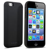 适用于iphone5SE背夹式电池苹果5s大容量充电宝移动电源苹果5便携手机外壳