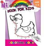 【中商海外直订】Dot-to-Dot Book For Kids coloring book Ages 4-8: Ch