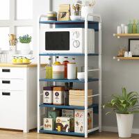 【爆款】置物架微波炉落地架厨房创意收纳架储物架子家用烤箱调料碗架