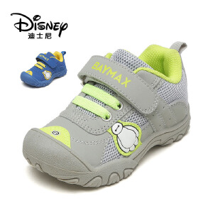 【达芙妮集团】迪士尼 春款儿童学步鞋魔术贴网状防撞童鞋