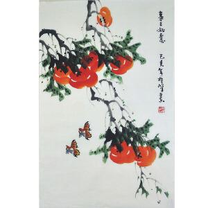 中国美协会员,龙门书画院院长侯桂峰(事事如意)  64