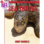 【中商海外直订】Sea Turtle! An Educational Children's Book about Se