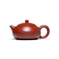 紫砂壶宜兴名家纯全手工小品大红袍西施壶功夫茶壶茶具 大红袍堆绘西施
