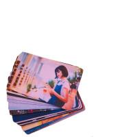 卡贴定制 星幻磨砂水晶果冻学生饭卡动漫公交卡贴diy BX