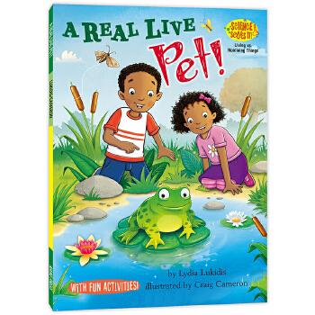 科学全知道:想要一个宠物Science Solves It! : A Real Live Pet! 美国小学生都爱看的原版趣味科学故事书,科学、英语一起学,小学科学课完美辅助读物。发现科学魅力,学会探索科学的基本方法,拥有解决问题的必要能力。