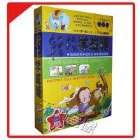 早教DVD光盘轻松学成语儿童版10DVD附智能闪卡学国学故事高清光碟