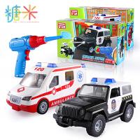 儿童可拆卸组拆装电动组合汽车飞机电钻拧螺丝3-6岁男孩玩具