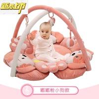 【六一儿童节特惠】 婴儿健身架器脚踏钢琴宝宝音乐游戏毯垫新生儿益智玩具0-3-