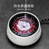 唐丰TF9139多功能白色电陶炉台式迷你电热煮茶器家用凹面平底适用茶炉