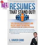 【中商海外直订】Resumes That Stand Out!: Tips for College Students