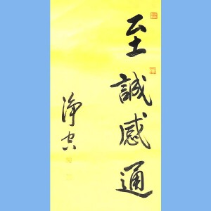 著名佛教大师,香港佛陀教育协会董事主席净空(志诚感通)