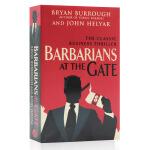 门口的野蛮人 英文原版 Barbarians at the Gate电影原著小说 Bryan Buffough布赖恩伯